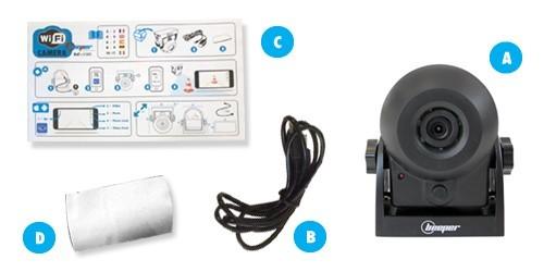 cam ra de recul et de surveillance wifi h1wifi beeper ebay. Black Bedroom Furniture Sets. Home Design Ideas